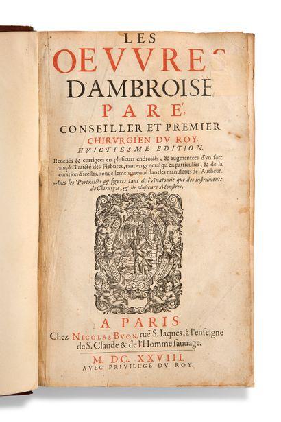 [CHIRURGIE]. PARÉ Ambroise (vers 1510-1590)...