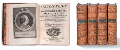 DIDEROT Denis (1713-1784) - ALEMBERT Jean d' (1717-1783)