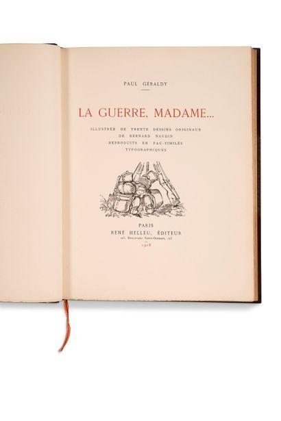 NAUDIN Bernard (1876-1946) - GÉRALDY Paul (1885-1983)
