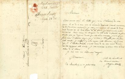 INGENHOUSZ Jan (1730-1799) médecin et botaniste britannique.