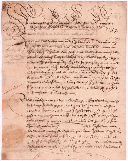 SAINT-EMPIRE. FERDINAND III (1608-1657) Empereur....