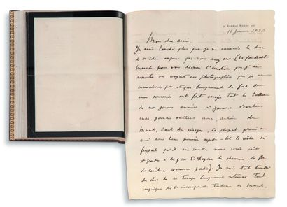 PROUST Marcel (1871-1922) • 15 L.A.S., [1920-1922], à Horace FINALY ; 102 pages in-8,...