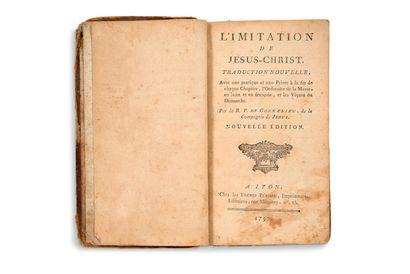 [KEMPIS Thomas A. d'après (XVe siècle)]- GONNELIEU R. P. de (1640-1715)