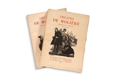 BRUYER Georges (1883-1962) - MOLIÈRE (POQUELIN Jean-Baptiste (1622-1673) dit)