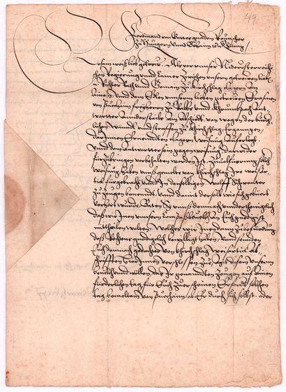SAINT-EMPIRE. FERDINAND Ier (1503-1564) Empereur....