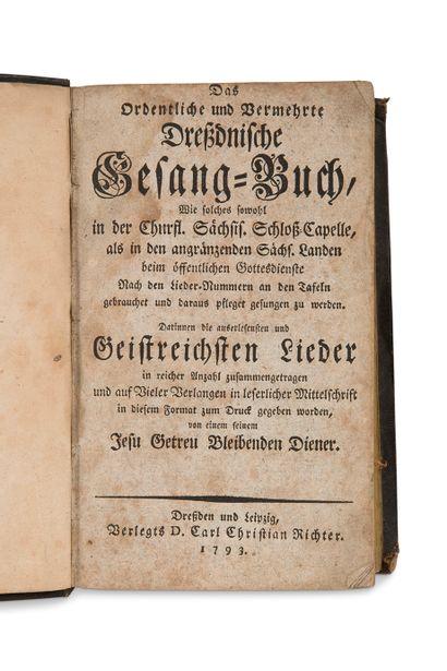 [ALLEMAGNE] Réunion de deux ouvrages en allemand...