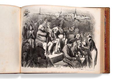 DORE GUSTAVE (1832-1883) • Album réunissant trois suites complètes : [Folies gauloises...
