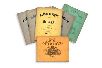 • [CARICATURES]. DAUMIER Honoré (1808-1879)...