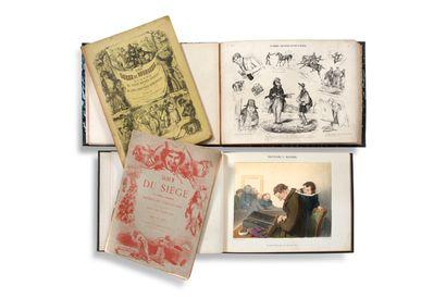 • [CARICATURES] - DAUMIER Honoré (1808-1879)...