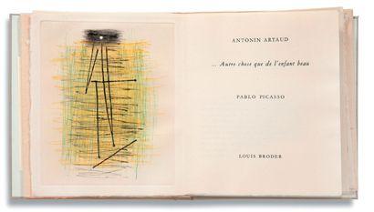 PICASSO Pablo (1881-1973) - ARTAUD Antonin (1896-1948)