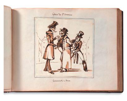 • SOLOGNE ALBUM d'environ 150 dessins, aquarelles,...