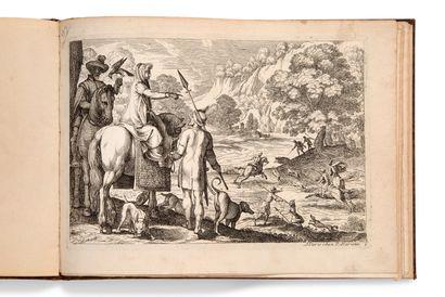 • [CHASSE]. [TEMPESTA Antonio (1555-1630)] Album d'estampes de scènes de chasse...