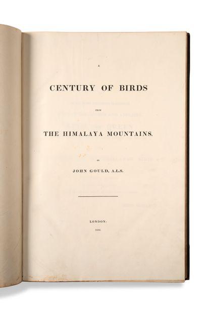 • [HISTOIRE NATURELLE]. [ORNITHOLOGIE]. GOULD John (1804-1881) A century of birds...