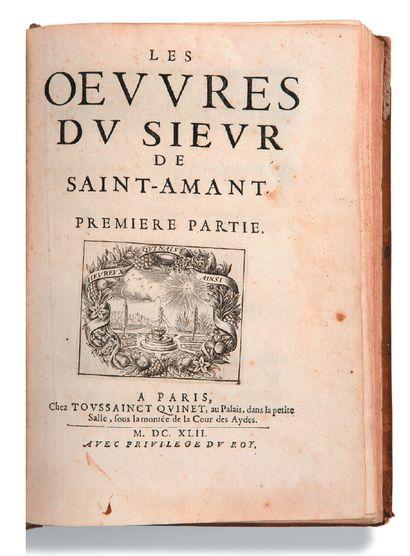 [SAINT-AMANT Marc-Antoine Girard, sieur de (1594-1661)]
