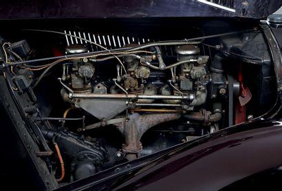 1937 DELAHAYE 135 COUPE DES ALPES COUPÉ CHAPRON 1 Carrosserie élégante signée Chapron...