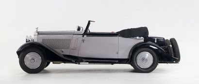 1934 ROLLS-ROYCE 20/25 HP CABRIOLET FERNANDEZ & DARRIN