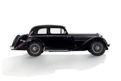 1937 DELAHAYE 135 M CABRIOLET CHAPRON Dans la même famille entre 1937 et 1974. Superbe...