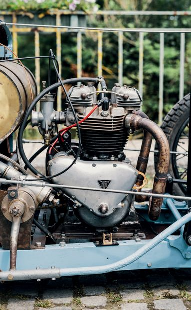 1929 ANTONY « BERGAMOTTE » Authentique racer Six participations au Bol d'Or, quatre...