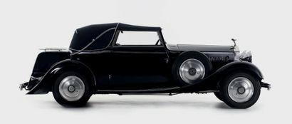 1934 ROLLS-ROYCE 20/25 HP CABRIOLET FERNANDEZ & DARRIN - COMMANDÉE NEUVE PAR LA COMTESSE CHARLOTTE VAN LIMBURG STIRUM