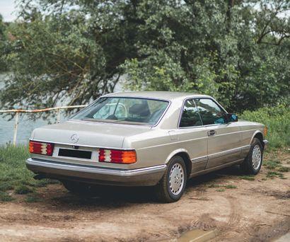 1987 MERCEDES 420 SEC Incroyable état de préservation 136 000 km d'origine Configuration...