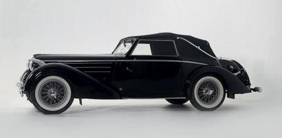 1937 DELAHAYE 135 M CABRIOLET CHAPRON