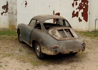 1962 PORSCHE 356 B SUPER 90 Vendue neuve à Poitiers Histoire intéressante Saine et...