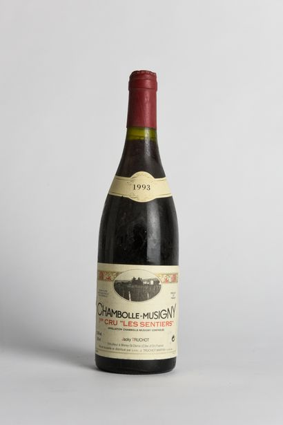 1 B CHAMBOLLE-MUSIGNY LES SENTIERS (1er Cru)...