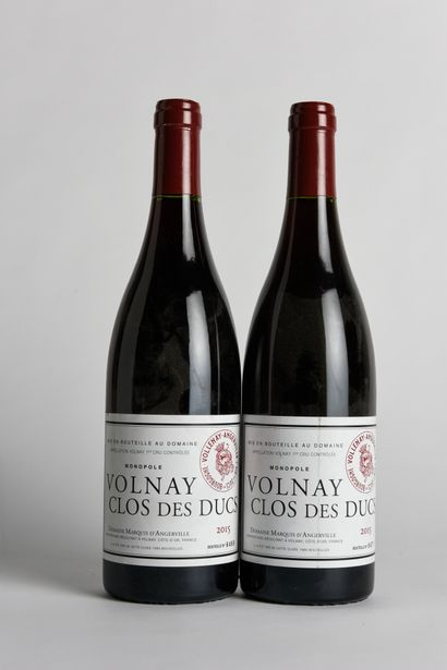 2 B VOLNAY CLOS DES DUCS MONOPOLE (1er Cru)...