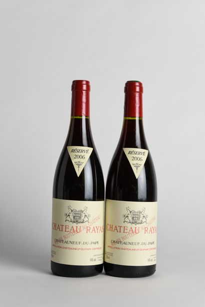 2 B CHÂTEAUNEUF DU PAPE Rouge - 2006 - Château...