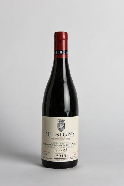 1 B MUSIGNY (Grand Cru) - 2015 - Comte de...