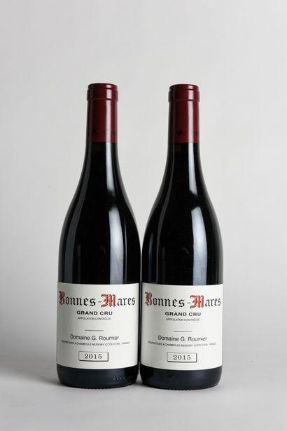 2 B BONNES-MARES (Grand Cru) - 2015 - Domaine...