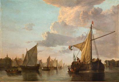 ÉCOLE ANGLAISE, VERS 1830<br/>D'APRÈS ALBRECHT JACOBSZ CUYP