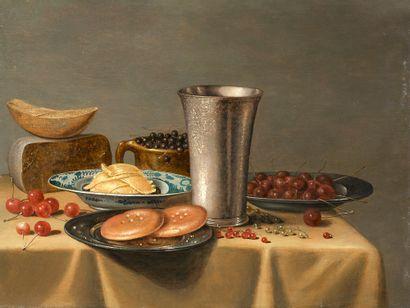 FLORIS VAN SCHOOTEN<br/>AMSTERDAM, 1580/1656, HAARLEM