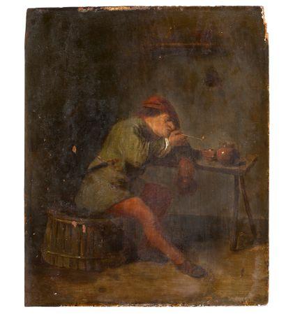 ATTRIBUÉ À ADRIAEN BROUWER<br/>AUDENARDE, 1605 - 1638, ANVERS