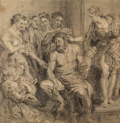 ABRAHAM VAN DIPENBEECK<br/>ANVERS, 1596 - 1675, BOIS-LE-DUC