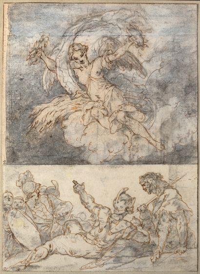 ATTRIBUÉ À MICHEL-ANGE CHALLE<br/>PARIS, 1718 - 1778
