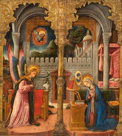 ANTONIO VIVARINI (DOC. VENETO, 1440/1476/1484)<br/>GIOVANNI D'ALEMAGNA (DOC. VENETO, 1441 - 23 JUILLET 1449/ 9 JUIN 1450)