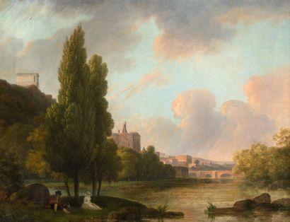 ATTRIBUÉ À FRANÇOIS SABLET<br/>MORGES, 1745 - 1819, NANTES