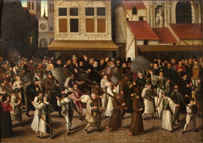 ATTRIBUÉ À FRANÇOIS BUNEL<br/>BLOIS, 1552 - 1599