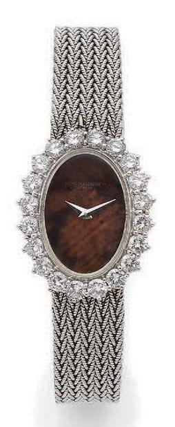 VACHERON CONSTANTIN No. 482803 P Montre bracelet de dame en or blanc 18k (750) avec...