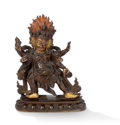 Tibet XVIIIe siècle