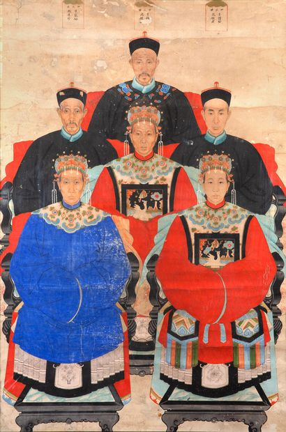 CHINE fin de la période Qing