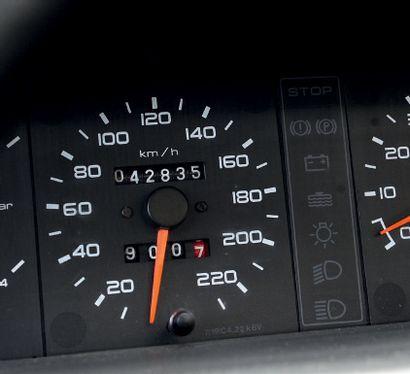 1988 Peugeot 205 GTI 1.9 Légende roulante 42 000 km d'origine Deuxième main Carte...