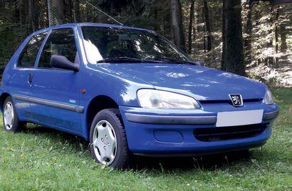1998 Peugeot 106 Mistral