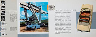 CITROËN Catalogue Air & Eau Présentant les avancées techniques de la marque, 1958...