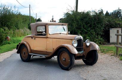 1923 Citroën 5 HP cabriolet