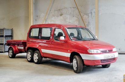 2000 Citroën Sbarro Espera Berlingo 6-roues « Croisière Jeune »