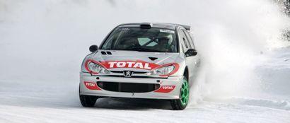 2001 Peugeot 206 WRC Glace Michel Vaillant