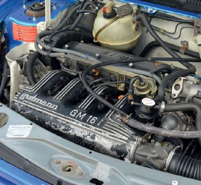 1988 Peugeot 205 GTI Mi 16 Rare Collector Deuxième main Mécanique performante Carte...