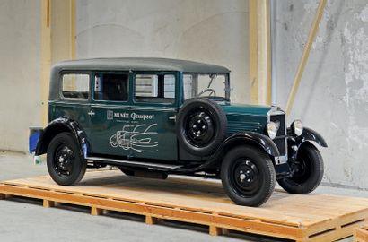 1932 Peugeot 201 T Limousine Commerciale